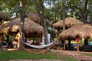 San Marcos River Vacation Lodging Glamping Tents Cabins