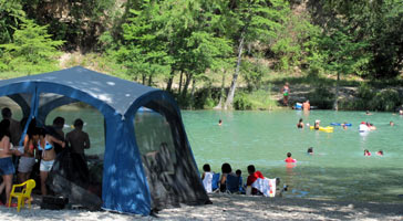 A Picnic On The Frio River At Garner State Park Camping