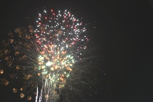 fireworks at Claytons