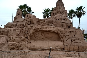 Largest sandcastle in the US