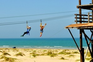 Zip on South Padre Island