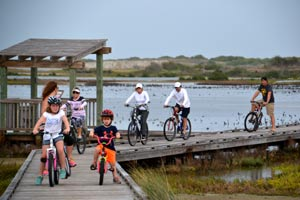 Biking in Port Aransas