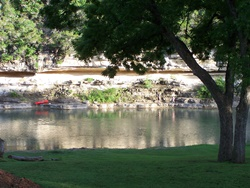 The Guadalupe River at Rio Guadalupe River