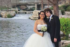 Everlasting Elopements wedding on the River Walk