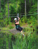 Adrenaline Rush Zip Line Tour