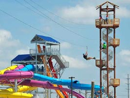 Hawaiian Falls Adventure Park Zip Line