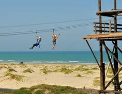 South Padre Island Adventures Zip Line