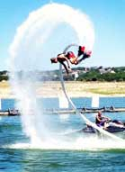 Flyboarding with Aquafly