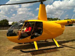 Holt Helicopters gives fun rides over the Frio River