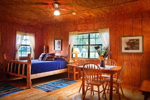Cabin rental at West 1077 Guest Ranch in Bandera