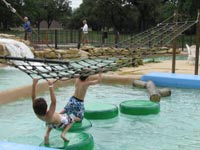 Playing at the Water Park
