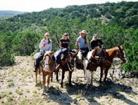 Trail rides are a fun event at Flying L
