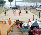 volleyball at Barefoot Bay Marina
