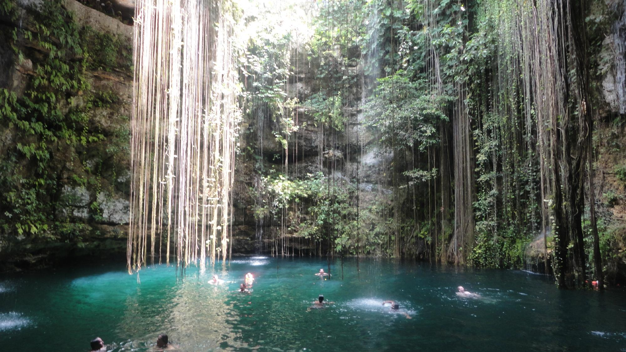 Beautiful waterfall in thailand s erawan waterfalls national park - Best Natural Swimming Holes In The World
