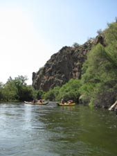 A fun float through beautiful scenery on the Salt River