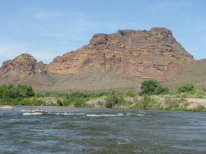 Salt river scenery