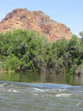 Some of the scenery along the Salt River
