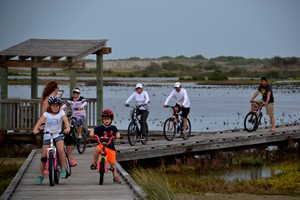 Bike ride in Port Aransas