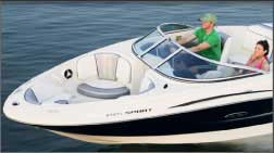 Ski boat rental on Lake Lewisville from Just For Fun