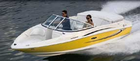 Sea Ray rental available at Splash Baot Renals
