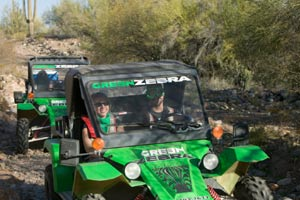 ATV tour at Fort McDowell Adventures