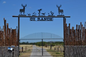 Entrance to Ox Ranch