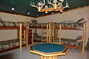 Bunk beds in the B&B