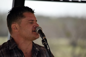 Jeff Wood at Grape Creek Winery
