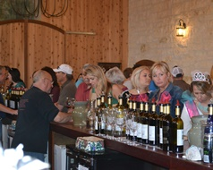 Becker Vineyards Wine Sampling
