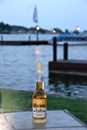 A Corona at Wolfies on Lake Conroe
