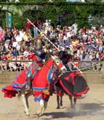 Jousting at the Texas Renaissance Festival