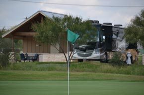 Our Casita at Alsatian RV Resort Overlooking the 14th green