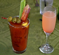 One of the Bloody Marys and Mimosas at Briarcliff Bistro