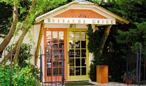 Entrance to Huisache Grill